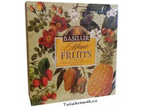 basilur magic fruits collection smes cernych ochucenych caju