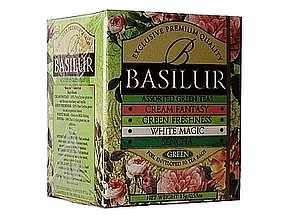 BASILUR Bouquet ASSORTED 10x1,5 g