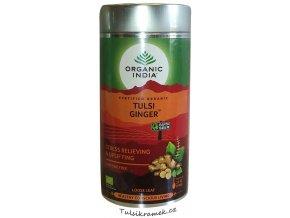 organic india tulsi zazvor ginger plech