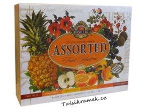 basilur darkova kazeta ovocnych caju 6 druhu