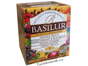 basilur fruit infusions volume 1 smes ovocnych caju 10 sacku