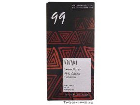 vivani horka cokolada 99 % bio
