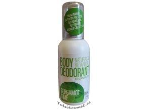 sportique deoguard body deodorant bergamot limetka