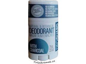 Deoguard deodorant neparfemovany s černym uhlim
