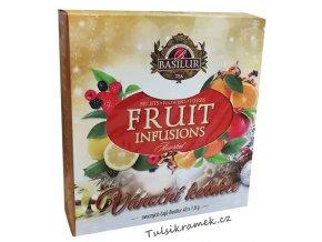 basilur vanocni smes ovocnych caju fruit infusions 40 sacku