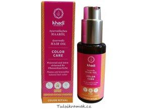 khadi vlasovy olej color care