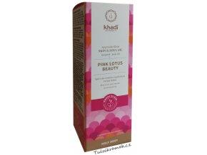 khadi elixír olej růžový lotos krása