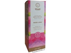 khadi elixir olej růže láska