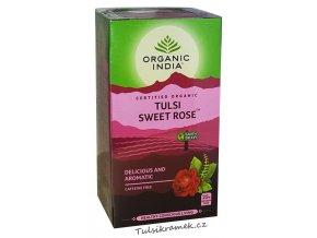 organic india tulsi sladka ruze