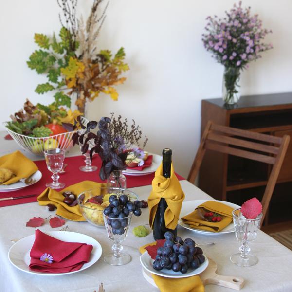Podzimní stolování: nechte tabuli hýřit barvami