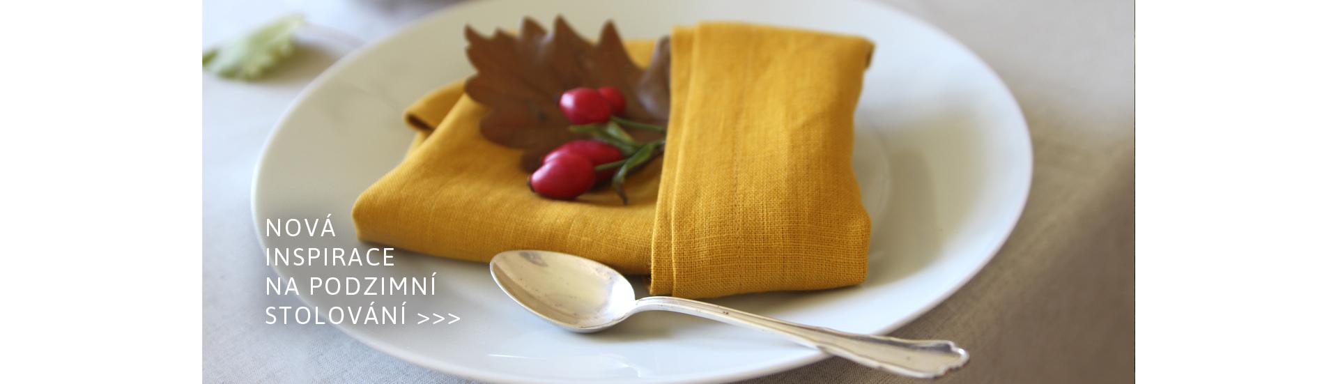 Podzimní inspirace pro váš stůl