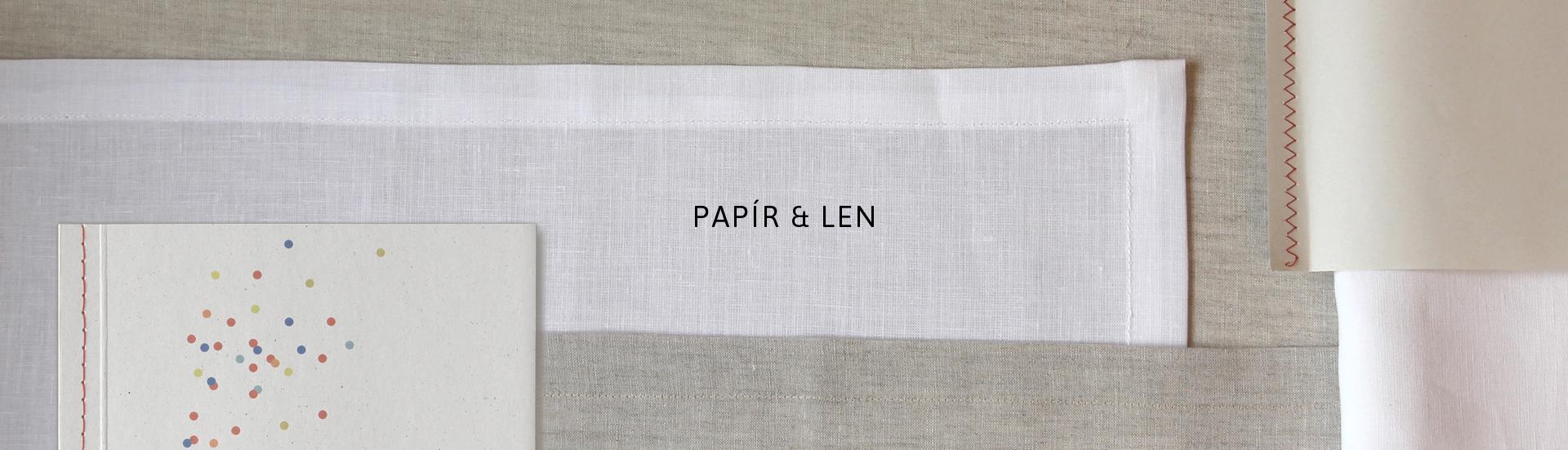 malé autorské papírnictví a originální bytový textil