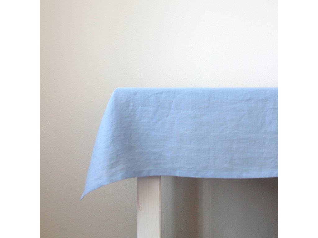 tululum ubrus svetle modry