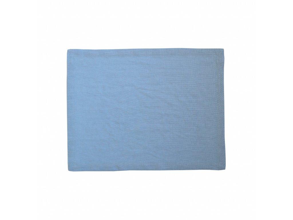 Tululum lnene prostirani svetle modre