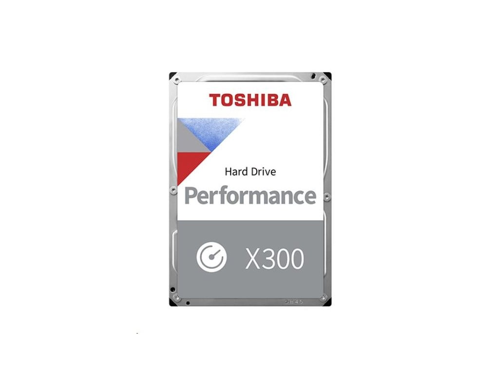 "TOSHIBA HDD X300 10TB, SATA III, 7200 rpm, 256MB cache, 3,5"", RETAIL"
