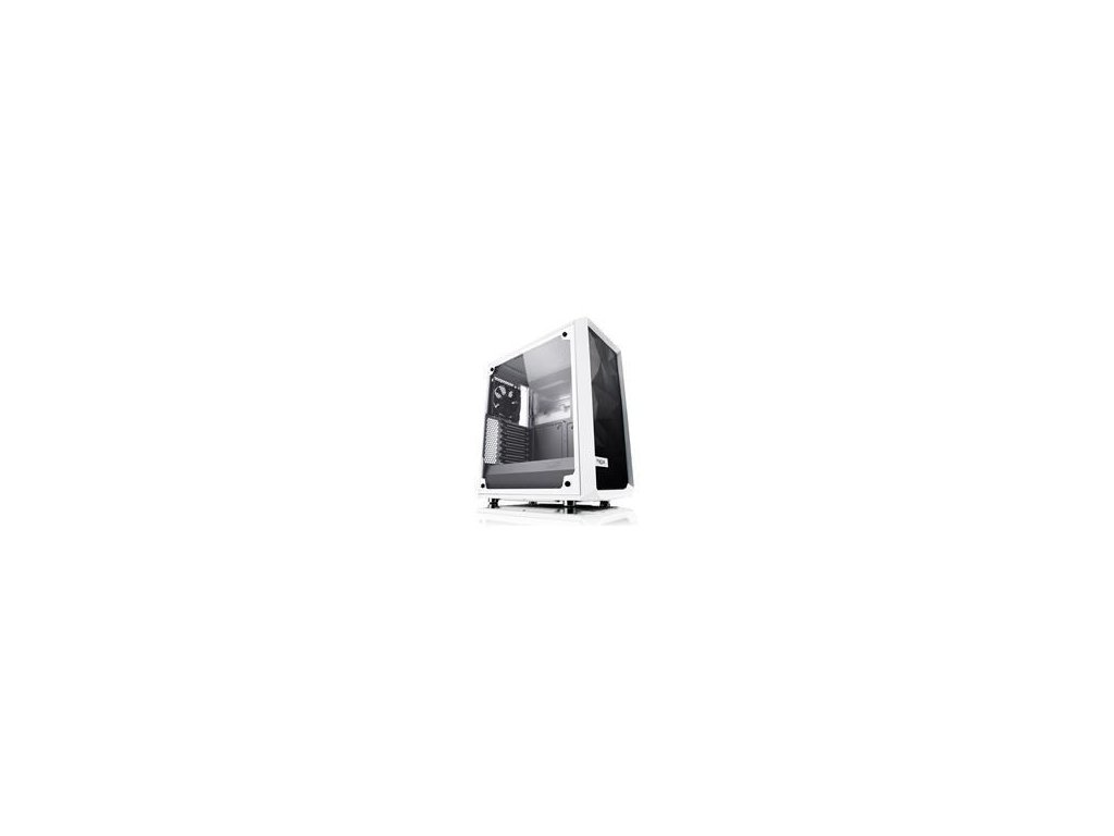 FRACTAL DESIGN skříň Meshify C, Midi Tower, bílá (okno TG), bez zdroje