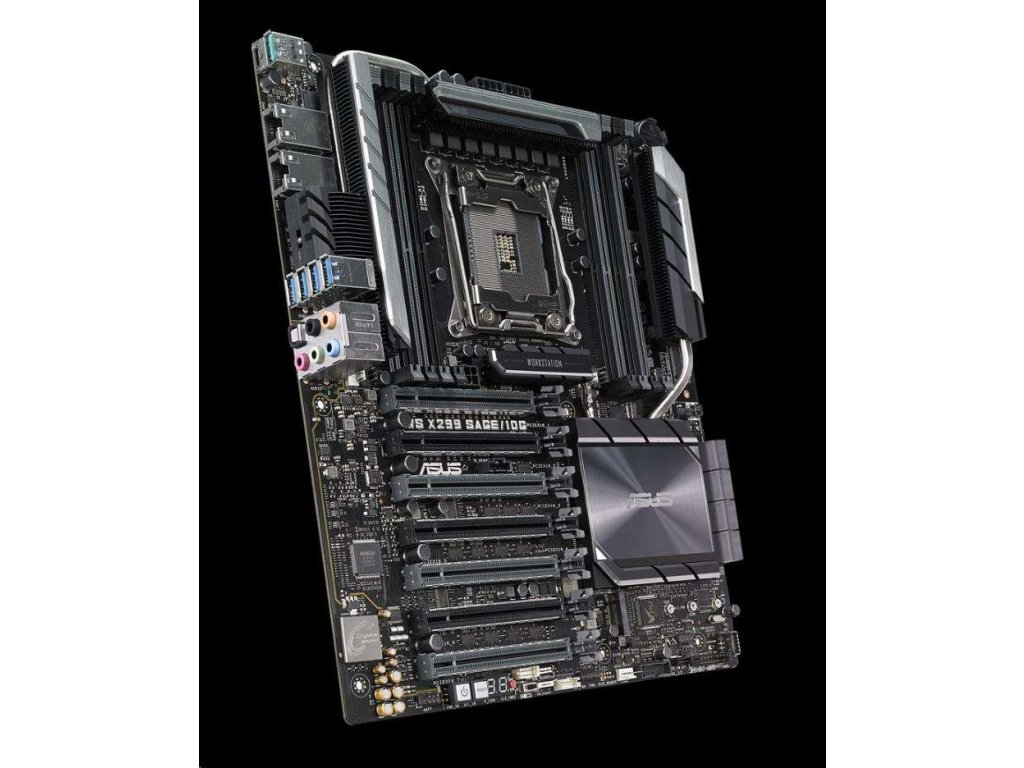ASUS MB Sc 2066 WS X299 SAGE/10G, Intel X299, 8xDDR4