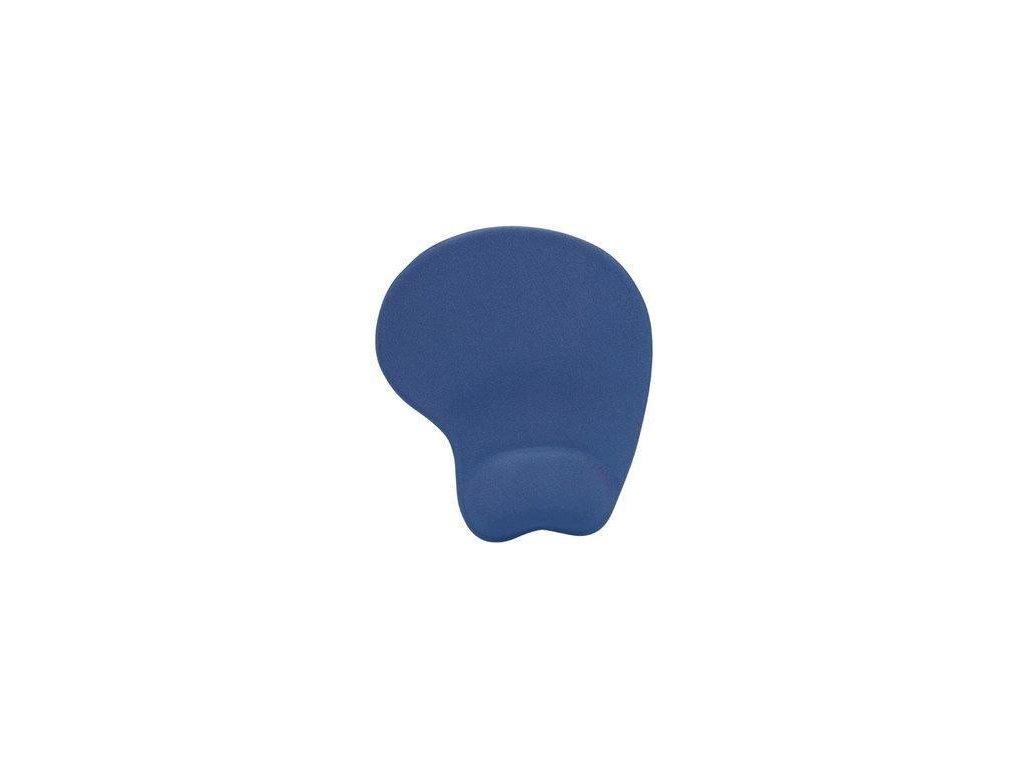 MANHATTAN MousePad, Deluxe gelová podložka, modrá/blue