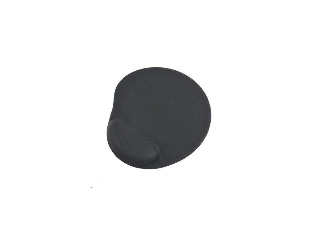 GEMBIRD Podložka pod myš gelová ergonomická Maxi, šedá