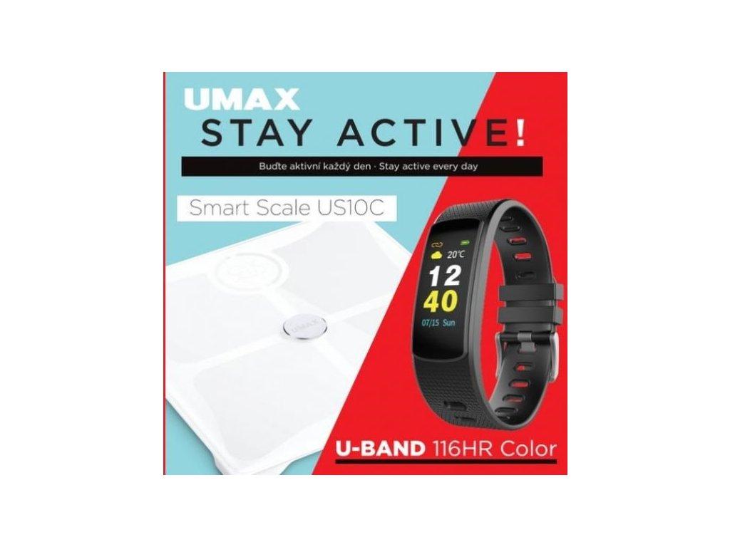 UMAX Stay Active! Smart Scale US10C + U-Band 116HR