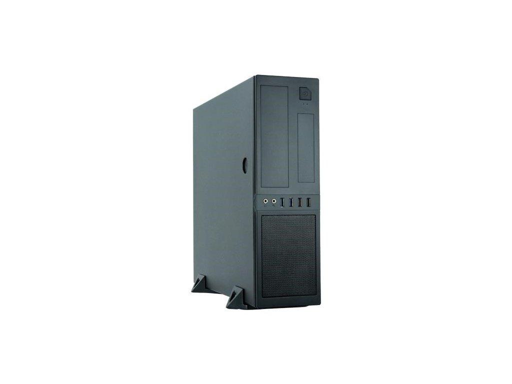 CHIEFTEC skříň Mesh Series / Minitower, CS-12B, zdroj GPF-300P (300W), Black