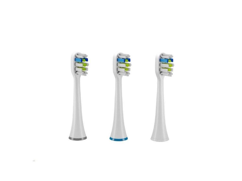 TrueLife Náhradní hlavice SonicBrush UV - Sensitive Triple Pack
