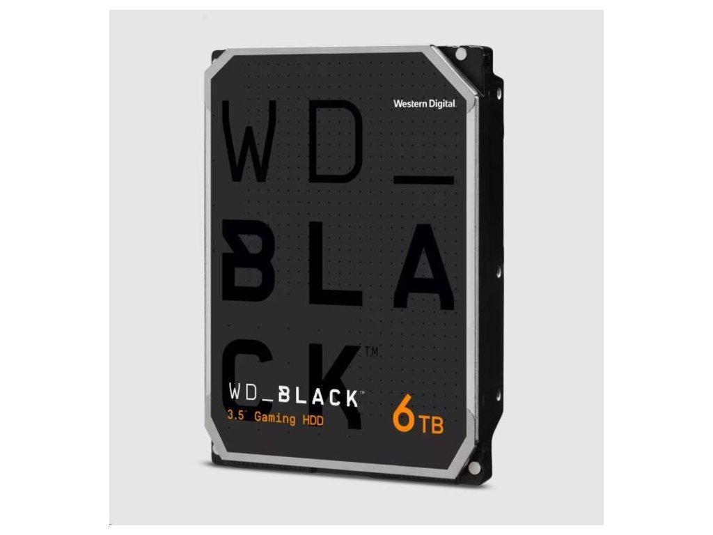 WD BLACK WD6003FZBX 6TB SATAIII/600 256MB cache 7200 ot., CMR
