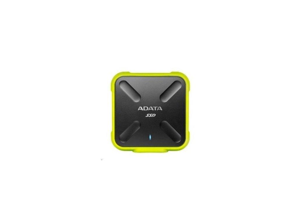 ADATA External SSD 256GB ASD700 USB 3.0 černá/žlutá