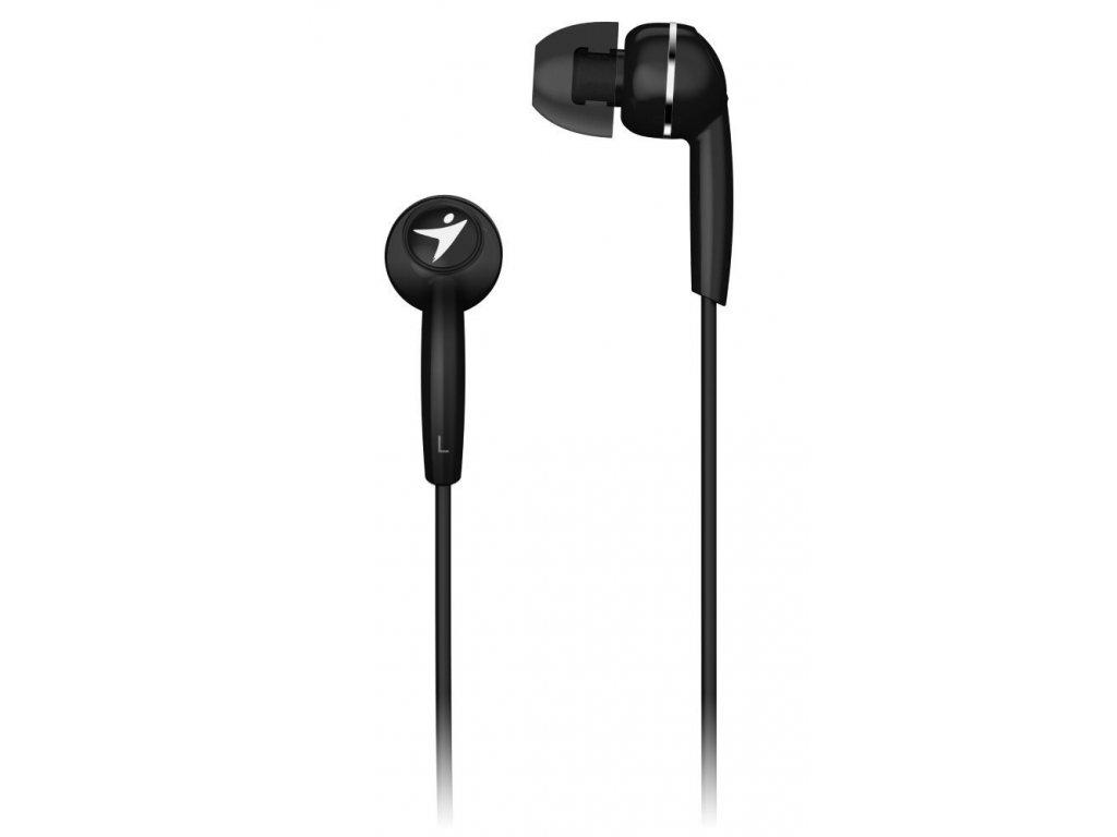GENIUS sluchátka s mikrofonem HS-M320, černá