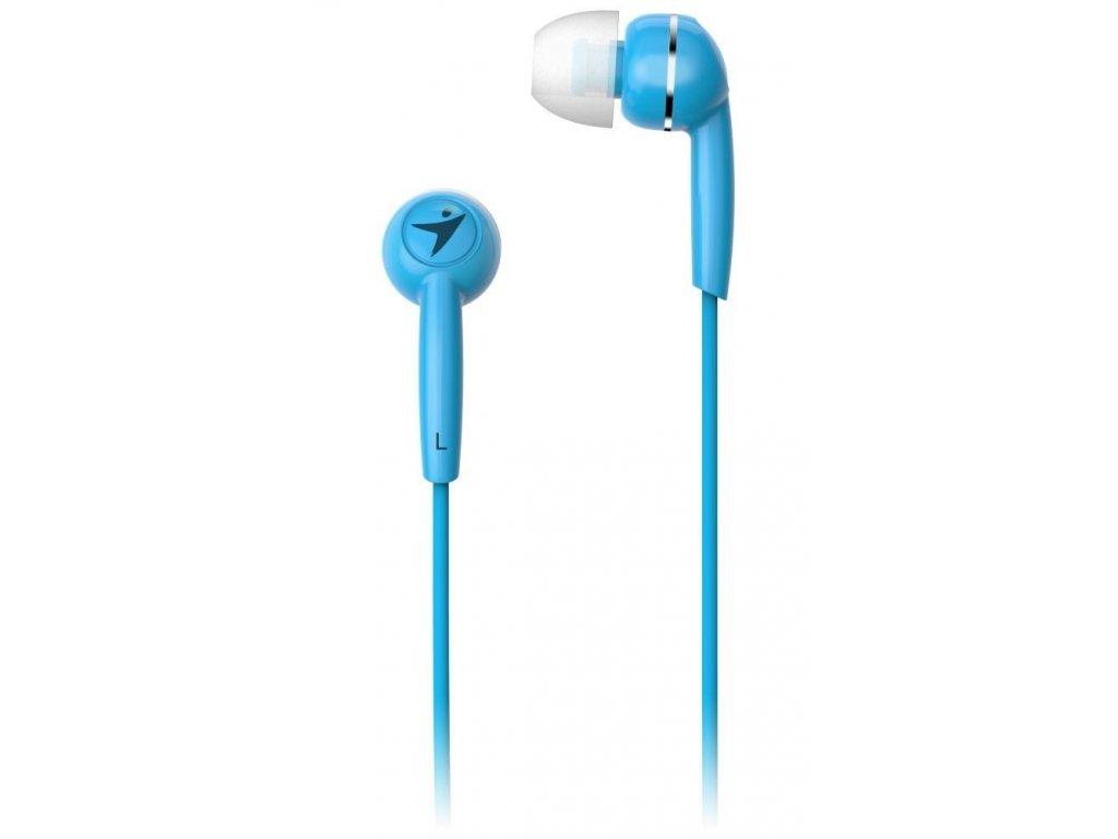 GENIUS sluchátka s mikrofonem HS-M320, modrá