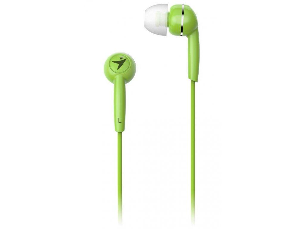 GENIUS sluchátka s mikrofonem HS-M320, zelená
