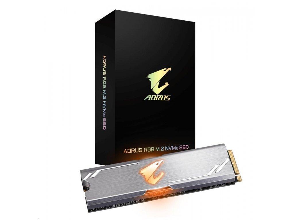 GIGABYTE SSD 512GB AORUS RGB M.2 NVMe