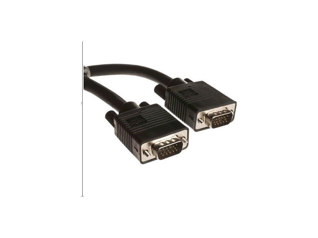 Kabel C-TECH VGA, M/M, stíněný, 3m