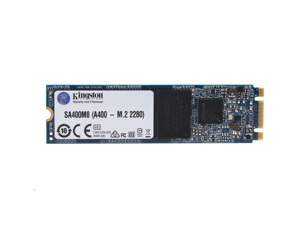 Kingston SSD 120GB A400 M.2 (R 500MB/s; W 320MB/s)