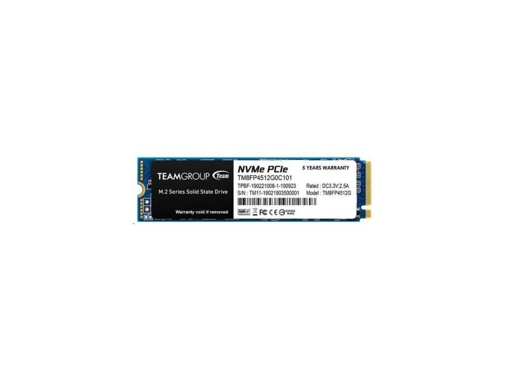 Team SSD M.2 512GB MP34 NVMe (3400/2000 MB/s)