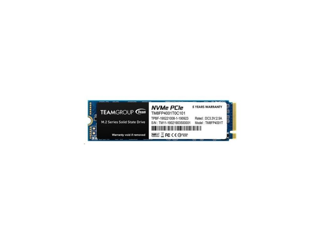 Team SSD M.2 1TB MP34 NVMe (3400/2900 MB/s)