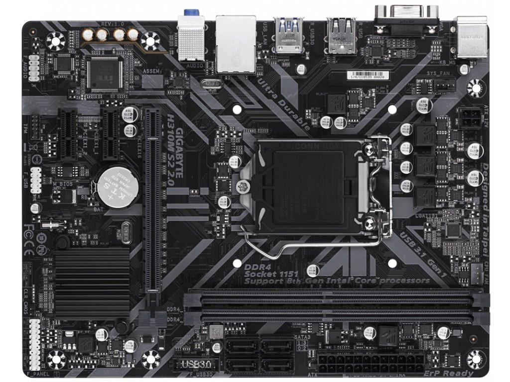 GIGABYTE H310M S2 2.0 (rev. 1.0)