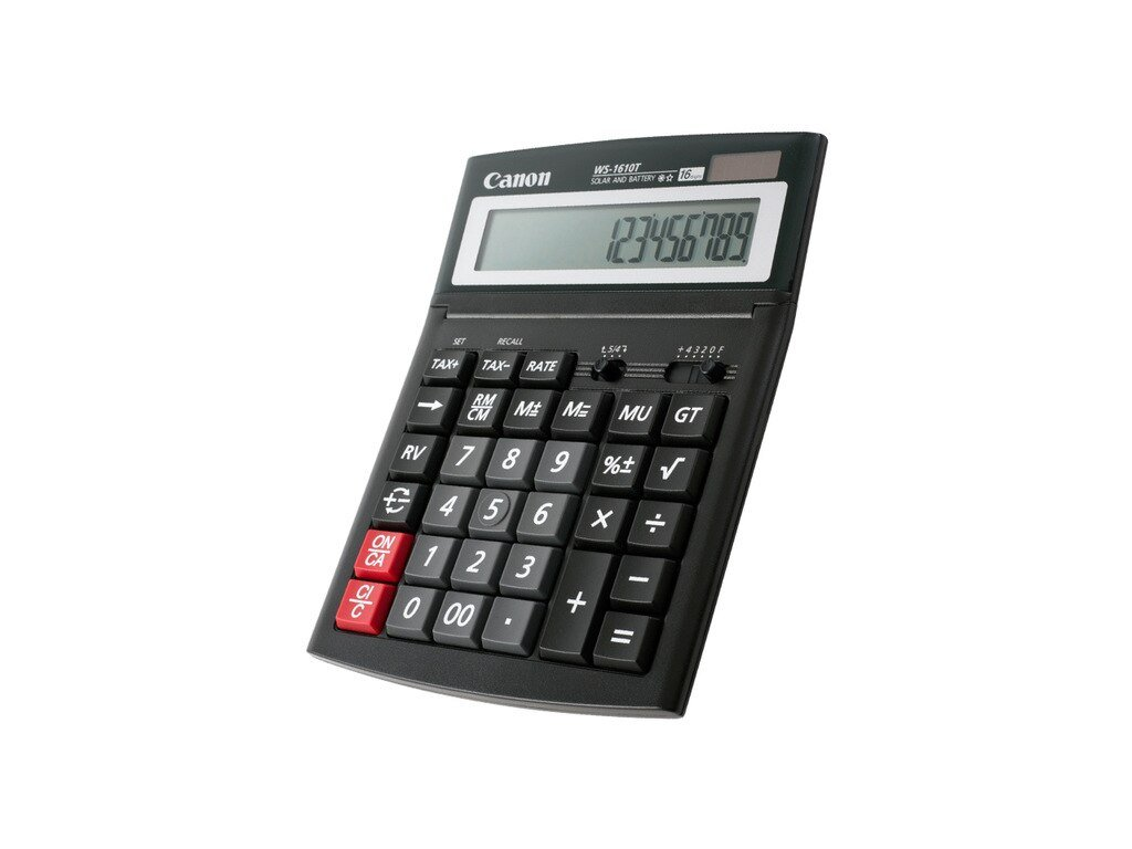 1pcs CANON WS 1610T Electronic Calculator Solar Business Financial Office 16 digit Large Screen Button Accounting.jpg 640x640