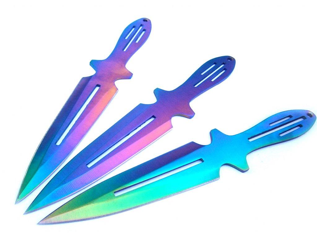Vrhacie nože Tomahawk Rainbow Fade K 99 (2)