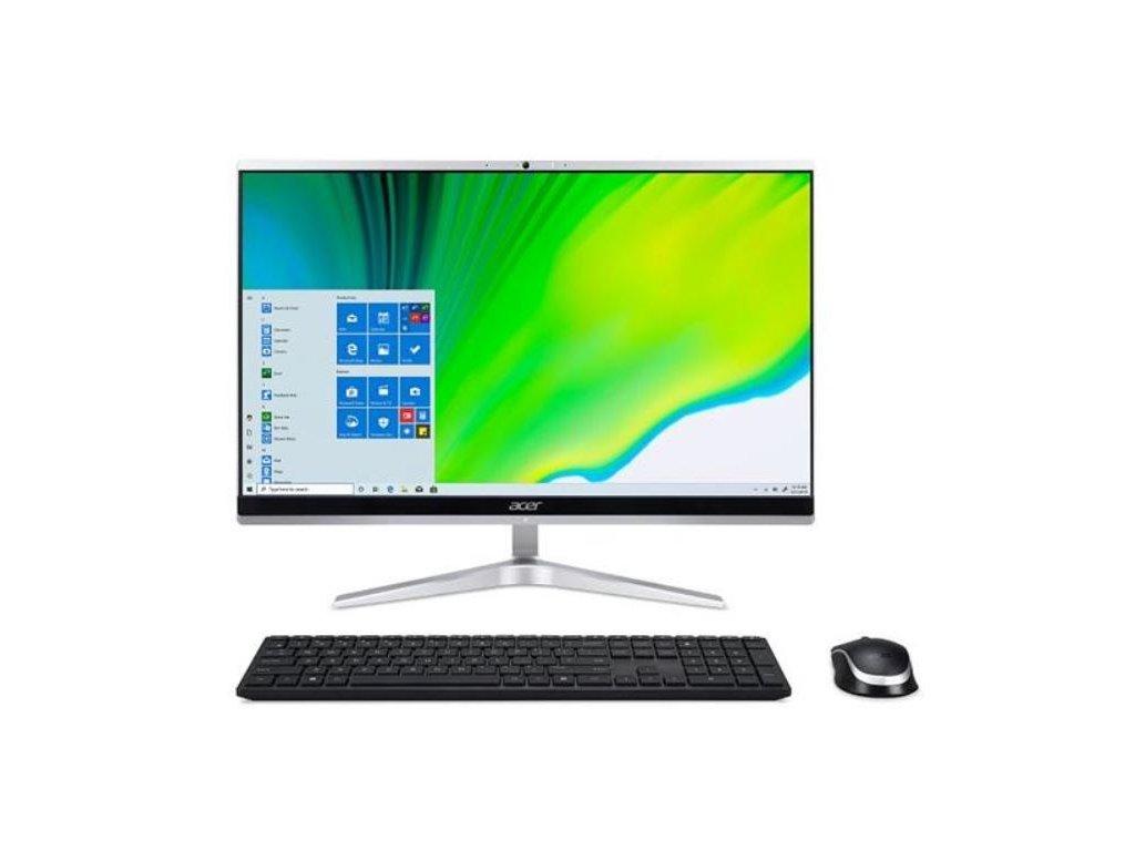 "ACER PC AiO Aspire C24-1650 - 23.8"" Full HD VA,i3-1115G4@3,00 GHz,4GB,256SSD,Intel UHD Graphics,W10P"