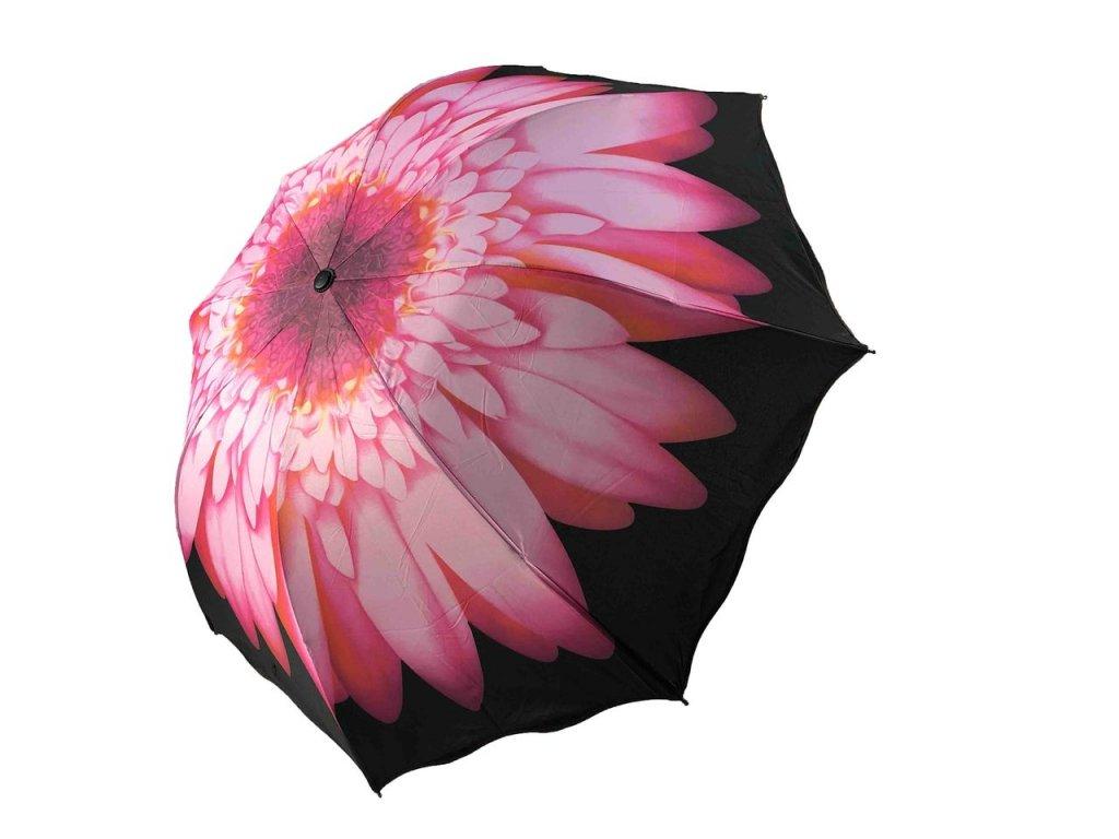 ruzovy kvet 2zboku