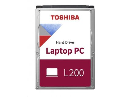 "TOSHIBA HDD L200 Laptop PC (SMR) 1TB, SATA III, 5400 rpm, 128MB cache, 2,5"", 7mm, RETAIL"