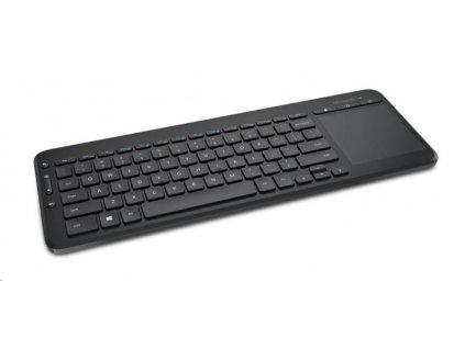 Microsoft Keyboard All-in-One Media, English, Black