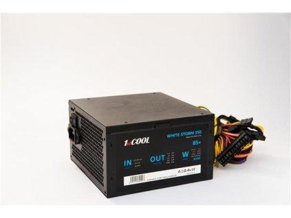 1stCOOL zdroj ATX 350W WHITE STORM 350, APFC, 85+
