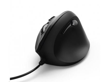 Hama vertikálna, ergonomická káblová myš EMC-500, 6 tlačidiel, čierna