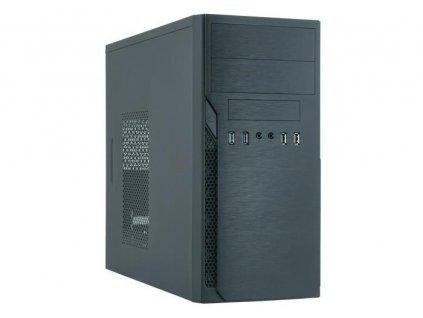 CHIEFTEC skříň Elox Series / Minitower, HO-12B, 350W, Black