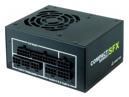 CHIEFTEC zdroj SFX CSN-650C 650W, 80+ Gold,full range, cable management