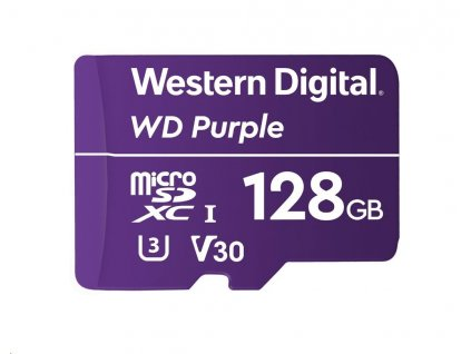 WD MicroSDXC karta 128GB WDD128G1P0A Class 10 (R:80/W:50 MB/s)