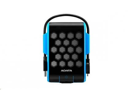 "ADATA Externí HDD 1TB 2,5"" USB 3.1, DashDrive™ Durable HD720, G-sensor, modrý, (gumový, vodě/nárazu odolný)"