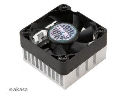 AKASA ventilátor AK-210-BK, 40 x 10,5mm, kluzné ložisko, na chipset